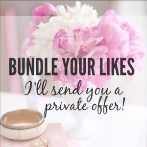 Bundle your likes, I'll send a private offer :)